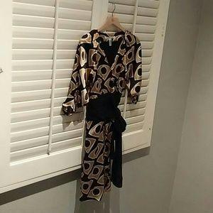 Diane von Furstenberg dress Lanii wrap dress